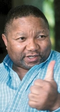 MZI KHUMALO DOES THE TWO-TIME