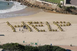 FIGHTING ON THE BEACHES IN PLETTENBERG BAY