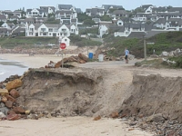 Who pays to save the Plett beach?