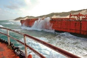 Argy bargy over Cape Vidal wrecks