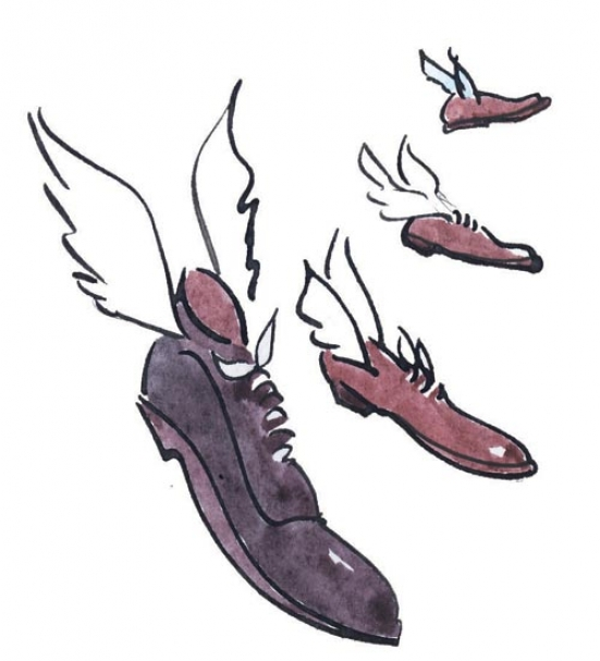 Flying footwear I