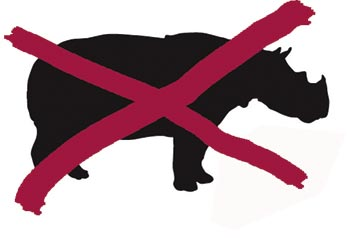 Rhinos: the bloody end!