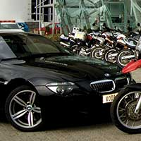 Driven down the road to ruin by BMW