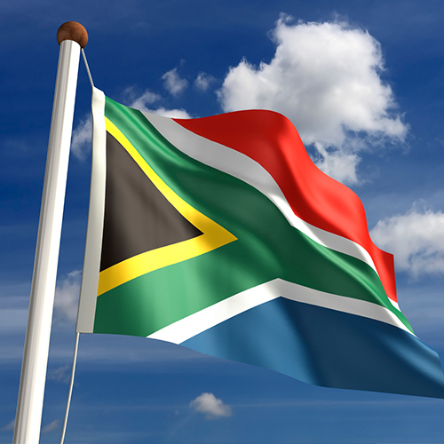 Proudly raise and wave your Mzansi flag