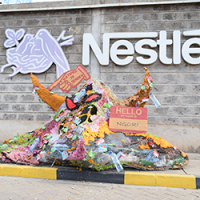 'Monster' stalks big businesses using throwaway plastic wrappers