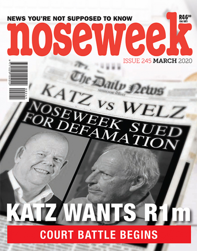 Dear Reader: Particulars of the R1m claim
