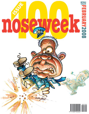 Noseweek Cover 100