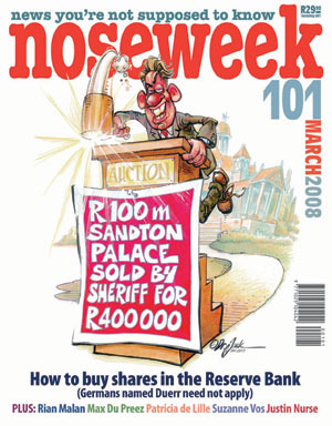 Noseweek Cover 101