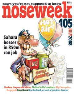 Noseweek Cover 105