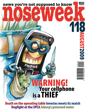 Noseweek Cover 118