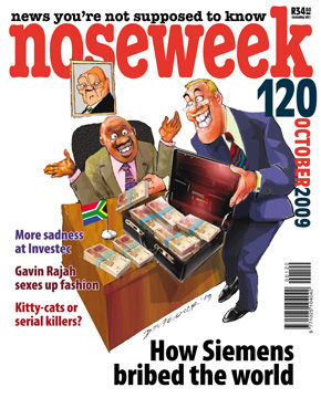 Noseweek Cover 120