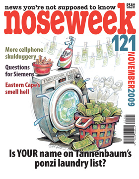 Noseweek Cover 121
