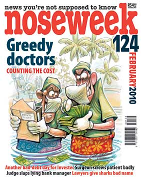 Noseweek Cover 124