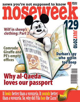 Noseweek Cover 129
