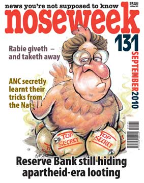 Noseweek Cover 131