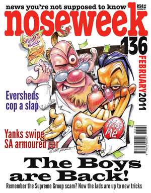 Noseweek Cover 136