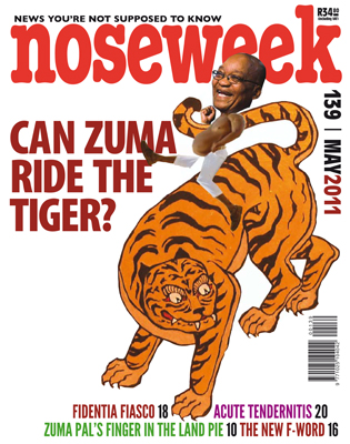Noseweek Cover 139