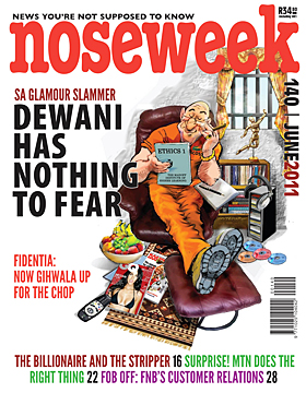 Noseweek Cover 140