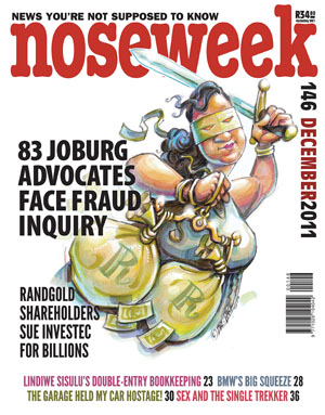 Noseweek Cover 146