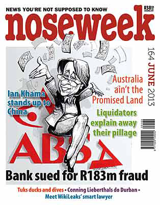 Noseweek Cover 164