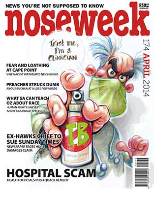 Noseweek Cover 174