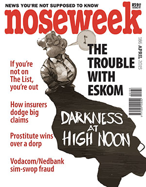 Noseweek Cover 186