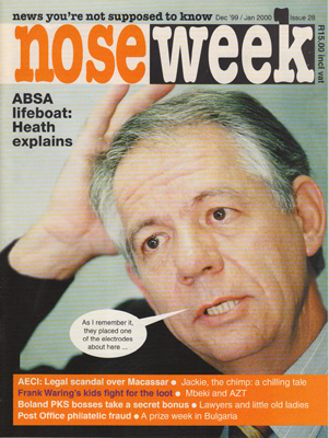 Noseweek Cover 28