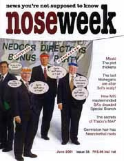 Noseweek Cover 33