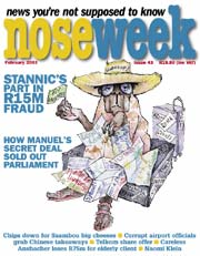Noseweek Cover 43