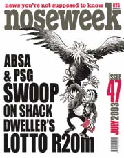 Noseweek Cover 47