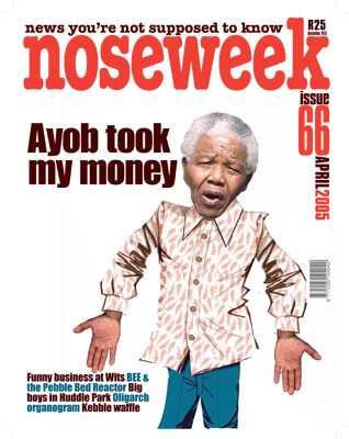 Noseweek Cover 66