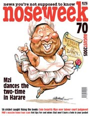 Noseweek Cover 70