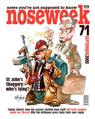 Noseweek Cover 71