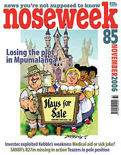 Noseweek Cover 85