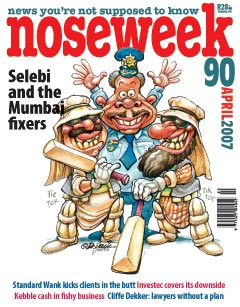 Noseweek Cover 90