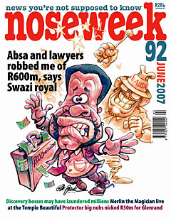 Noseweek Cover 92