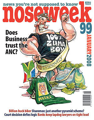 Noseweek Cover 99