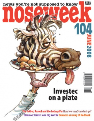 Noseweek Cover 104