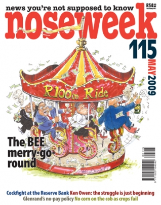 Noseweek Cover 115