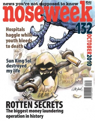 Noseweek Cover 132