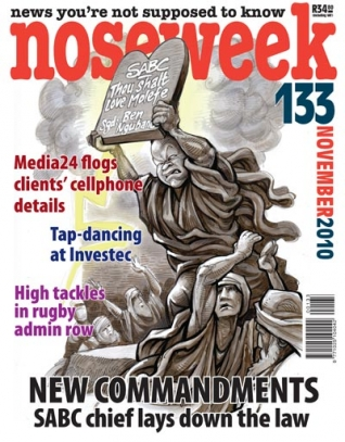 Noseweek Cover 133