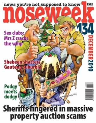 Noseweek Cover 134