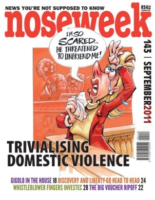 Noseweek Cover 143