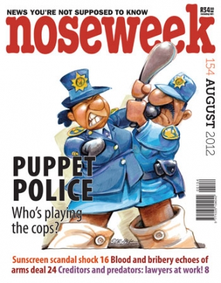 Noseweek Cover 154