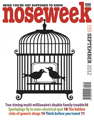Noseweek Cover 155