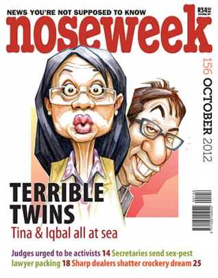 Noseweek Cover 156