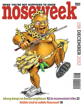 Noseweek Cover 158