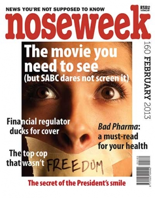 Noseweek Cover 160