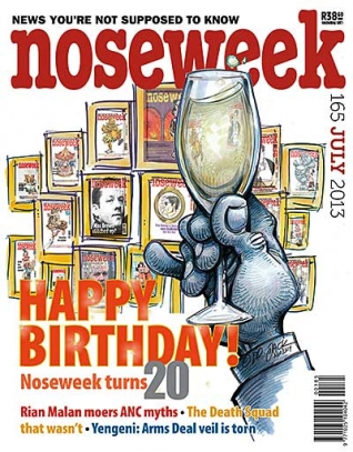 Noseweek Cover 165