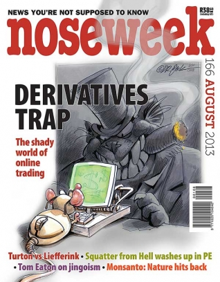 Noseweek Cover 166